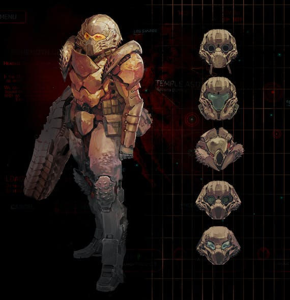Phoenix Point Chitin Armor and New Jericho on Fig