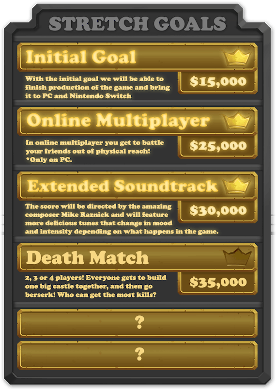 KnightOut: We reached our 2nd stretch goal  Only 2 hours