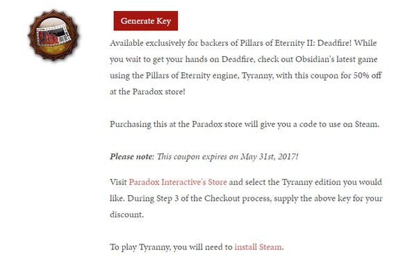 Pillars of eternity ii deadfire update 25 manage your pledge on if you have questions or need help with the pledge process in any way please reach out to us at supportobsidian well be more than happy to assist fandeluxe Images