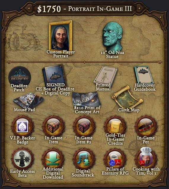 Pillars of Eternity II: Deadfire: Available Now on Fig