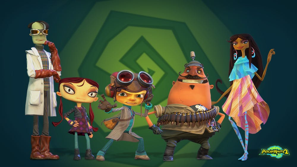 Psychonauts 2: Psychonauts 2 Update #10 - Asif Joins the Team, Plus
